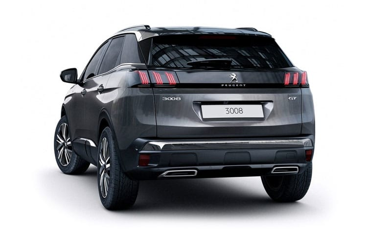 Peugeot 3008 SUV 1.2 PureTech 130PS Active 5Dr Manual [Start Stop] back view