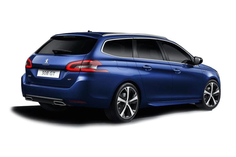 Peugeot 308 SW 5Dr 1.5 BlueHDi 130PS Allure Premium 5Dr Manual [Start Stop] back view