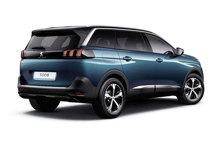 Peugeot 5008 SUV 1.5 BlueHDi 130PS GT Premium 5Dr EAT8 [Start Stop] back view