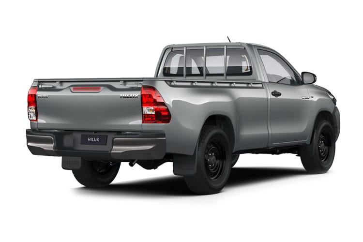 Toyota Hilux PickUp Extra Cab 4wd 3.5t 2.4 D-4D 4WD 150PS Active Pickup Double Cab Manual back view