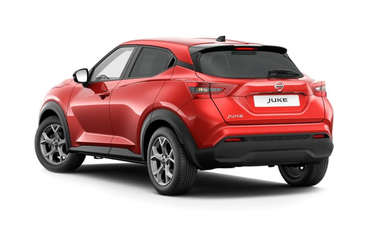 Nissan Juke SUV 1.0 DIG-T 117PS N-Connecta 5Dr Manual [Start Stop] back view