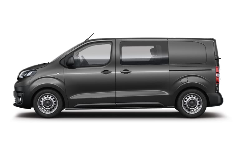 Toyota PROACE Medium 2.0 D FWD 180PS Design Crew Van Auto [Start Stop] back view
