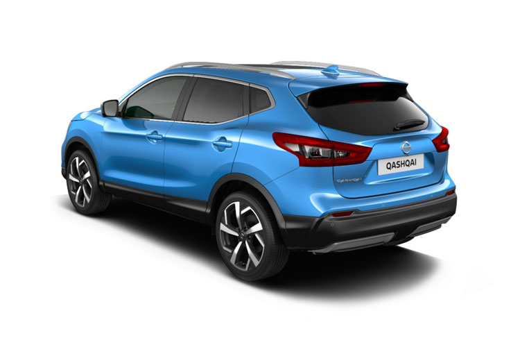 Nissan Qashqai SUV 2wd 1.7 dCi 150PS N-Connecta 5Dr Manual [Start Stop] [Pan Roof] back view