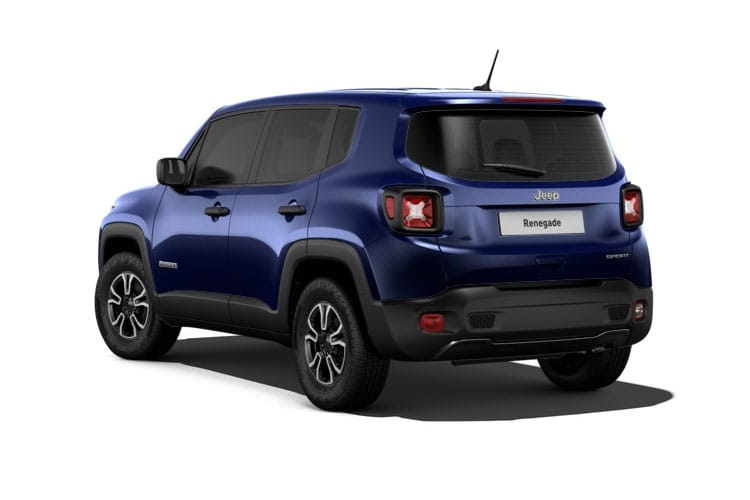 Jeep Renegade SUV 1.0 GSE T3 120PS Longitude 5Dr Manual [Start Stop] back view