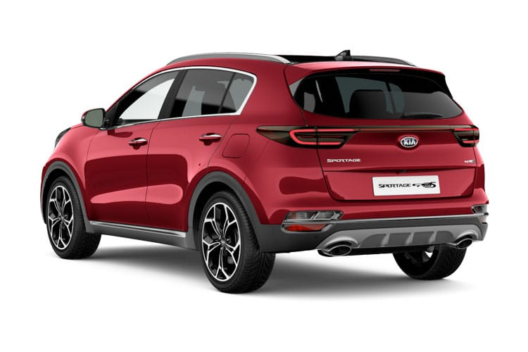 Kia Sportage SUV 2wd 1.6 CRDi EcoDynamics+ 134PS 2 5Dr Manual [Start Stop] back view