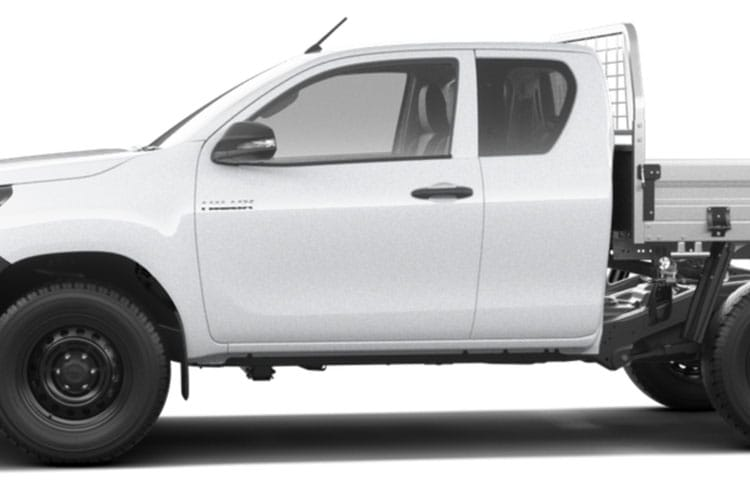 Toyota Hilux PickUp Extra Cab 4wd 3.5t 2.4 D-4D 4WD 150PS Active Dropside Dropside Double Cab Manual [Safety Sense] detail view