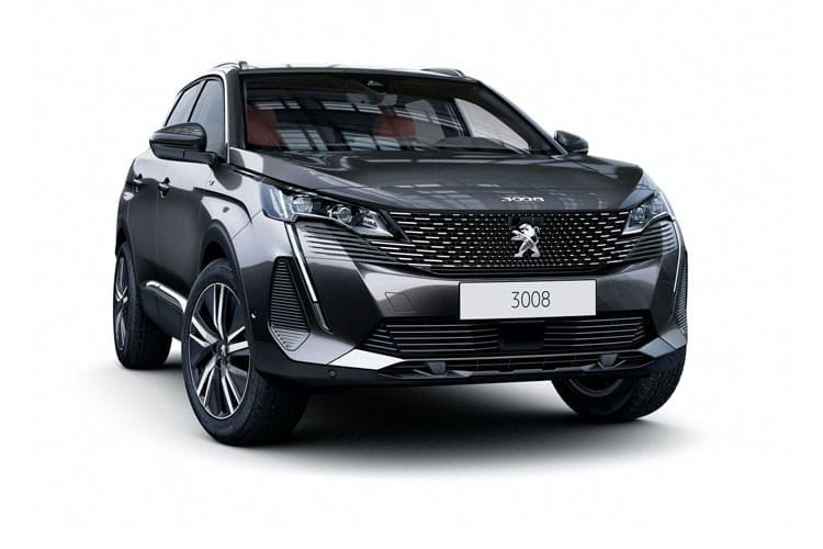 Peugeot 3008 SUV 1.2 PureTech 130PS Active 5Dr Manual [Start Stop] front view