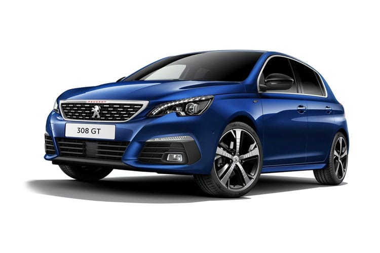 Peugeot 308 Hatch 5Dr 1.5 BlueHDi 130PS Allure Premium 5Dr EAT8 [Start Stop] front view
