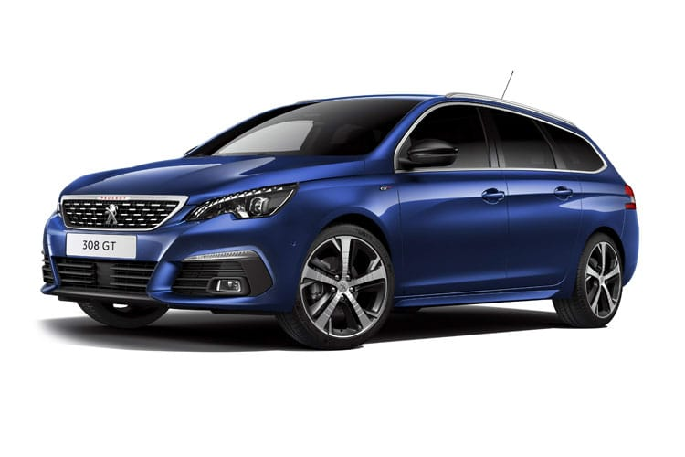 Peugeot 308 SW 5Dr 1.5 BlueHDi 130PS Allure Premium 5Dr Manual [Start Stop] front view