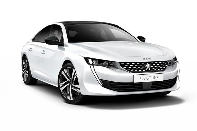 Peugeot 508 Fastback HYBRID 1.6 PHEV 11.8kWh 225PS GT Line Edition 5Dr EAT8 [Start Stop] front view