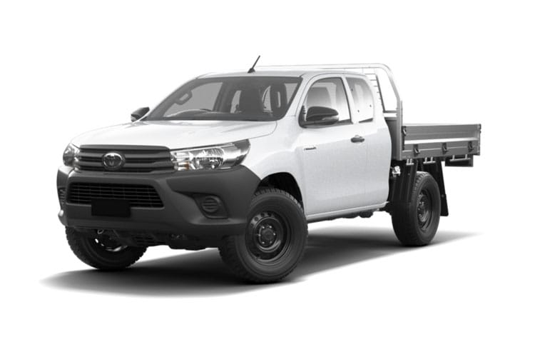 Toyota Hilux PickUp Extra Cab 4wd 3.5t 2.4 D-4D 4WD 150PS Active Dropside Dropside Double Cab Manual [Safety Sense] front view