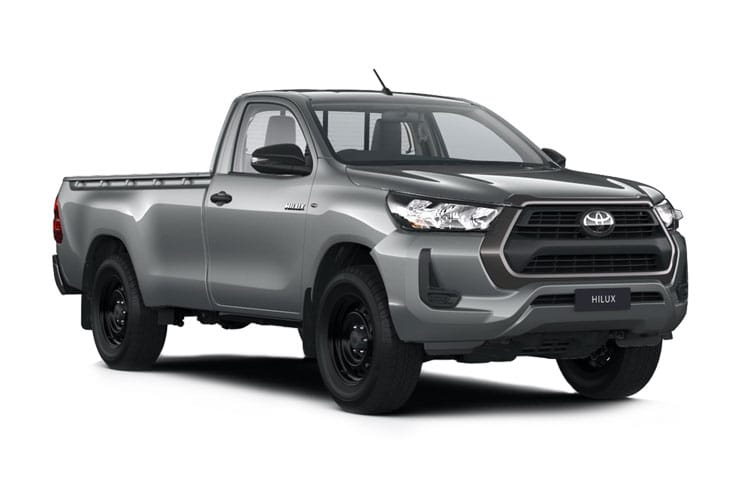 Toyota Hilux PickUp Extra Cab 4wd 3.5t 2.4 D-4D 4WD 150PS Active Pickup Double Cab Manual front view
