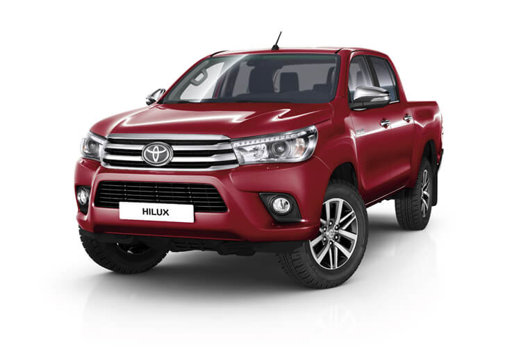 Toyota Hilux PickUp 4wd 3.5t 2.4 D-4D 4WD 150PS Active Dropside Dropside Manual [Safety Sense] front view
