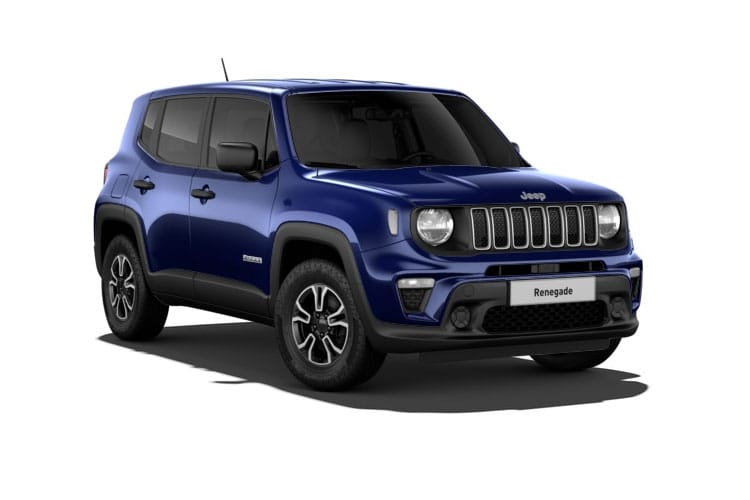 Jeep Renegade SUV 1.6 MultiJetII 120PS Longitude 5Dr Manual [Start Stop] front view