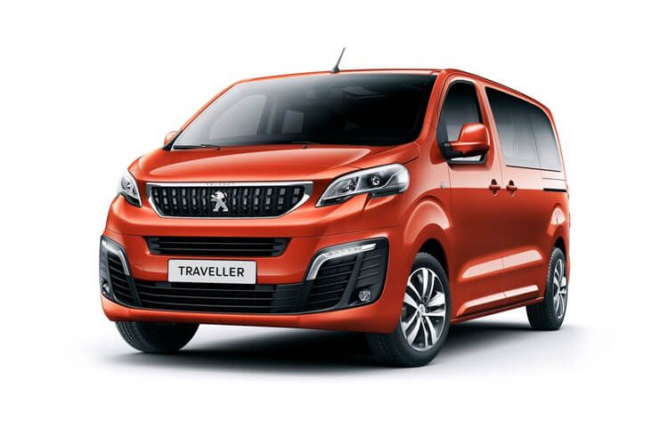 Peugeot Traveller Standard 5Dr 2.0 BlueHDi FWD 180PS Allure MPV EAT [Start Stop] [8Seat] front view