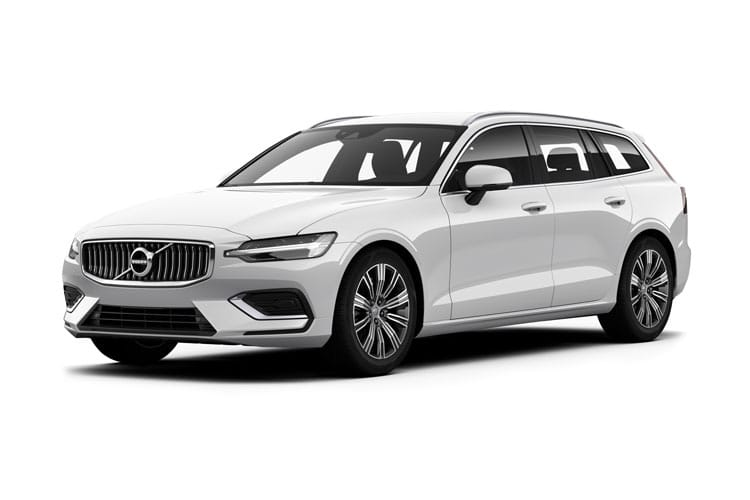 Volvo V60 Estate 2.0 B3 MHEV 163PS Inscription 5Dr Auto [Start Stop] front view