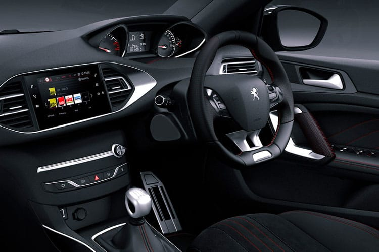 Peugeot 308 SW 5Dr 1.5 BlueHDi 130PS Allure Premium 5Dr Manual [Start Stop] inside view