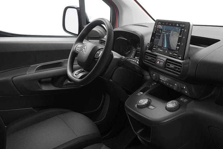 Citroen Berlingo M 650Kg 1.5 BlueHDi FWD 75PS Enterprise Van Manual inside view