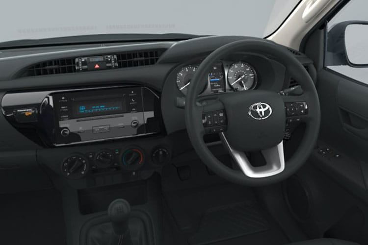 Toyota Hilux PickUp Extra Cab 4wd 3.5t 2.4 D-4D 4WD 150PS Active Pickup Double Cab Manual inside view