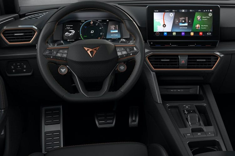 CUPRA Leon Hatch 5Dr 2.0 TSI 300PS VZ2 5Dr DSG [Start Stop] inside view
