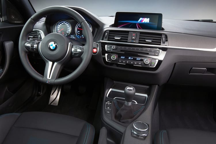 BMW 2 Series 220 Coupe 2.0 d 190PS Sport 2Dr Auto [Start Stop] inside view