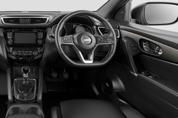 Nissan Qashqai SUV 2wd 1.7 dCi 150PS N-Connecta 5Dr Manual [Start Stop] [Pan Roof] inside view