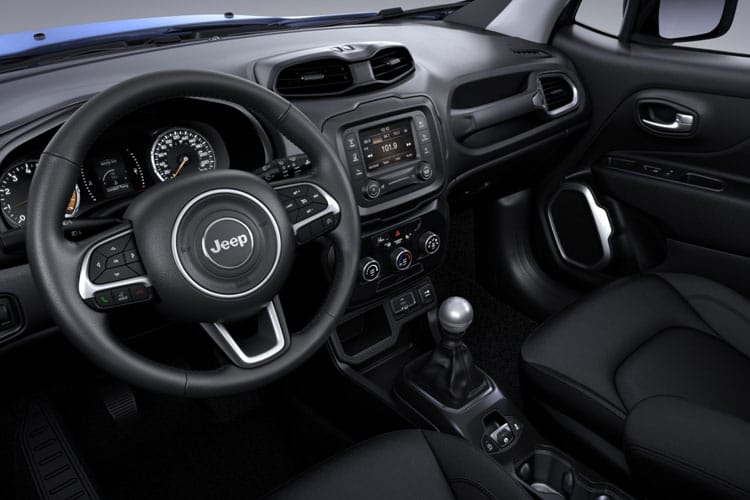 Jeep Renegade SUV 1.6 MultiJetII 120PS Longitude 5Dr Manual [Start Stop] inside view