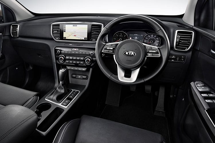 Kia Sportage SUV 2wd 1.6 CRDi EcoDynamics+ 134PS 2 5Dr Manual [Start Stop] inside view