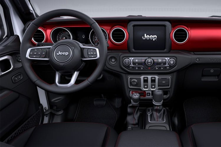 Jeep Wrangler SUV 4Dr 2.0 GME 272PS Sport 4Dr Auto [Start Stop] inside view