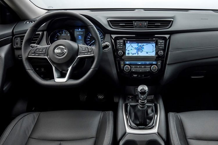 Nissan X-Trail SUV FWD 1.7 dCi 150PS Acenta 5Dr CVT [Start Stop] [5Seat] inside view